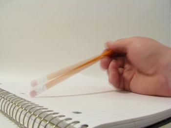 Tapping a Pencil by Rennett Stowe