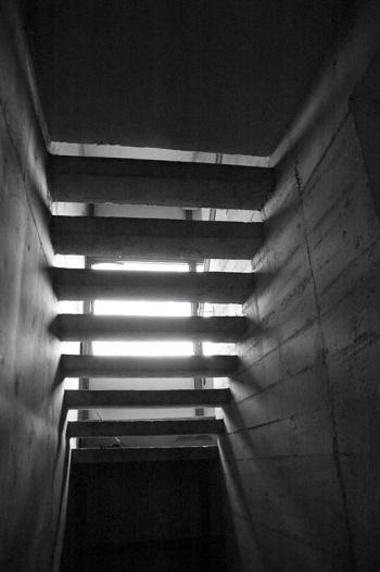 under a Stairwell