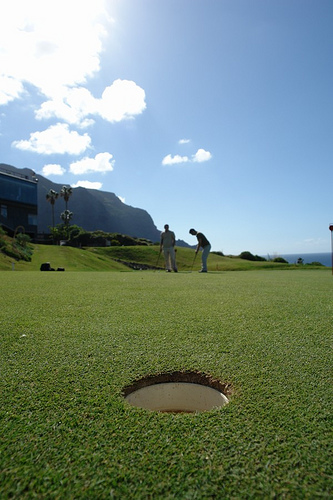 Golf Hole by ultracuerpo