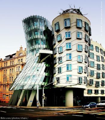 dancing house by Christopher Chan