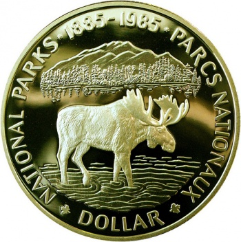 Canadian Dollar by Kevin Dolley