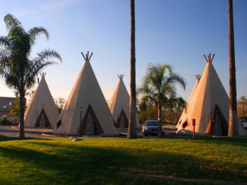 Wigwam Village Motel by Chuck Coker