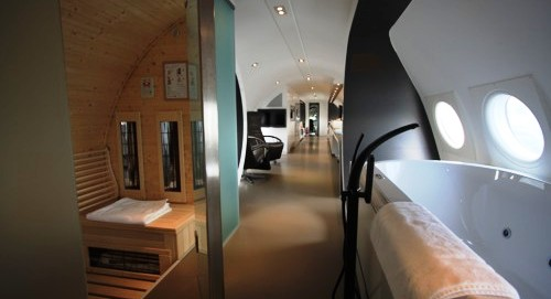 Vliegtuigsuite Aircraft Hotel by hotelsuites nl