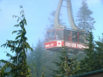 Grouse Mountain Skyride by Zen Skillicorn