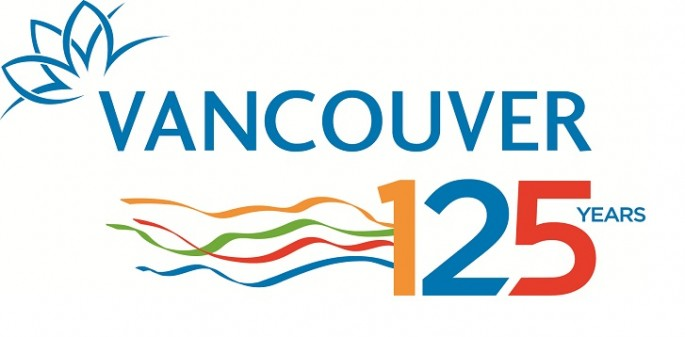 Celebrate Vancouver 125 Official Logo