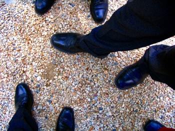 Businessmen by Paolo Huntz