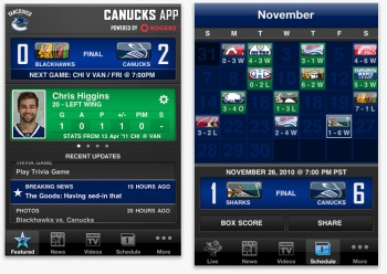Canucks Screenshot