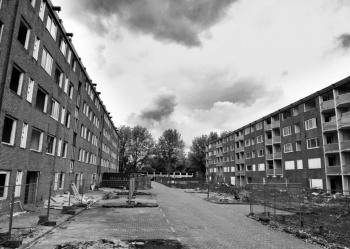 Ghost town by Jos van Zetten