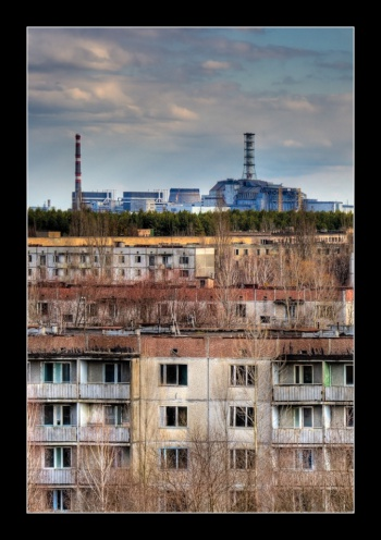 Roofs of Pripyat by Timm Suess