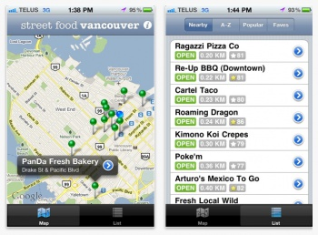 Street Food Vancouver Screenshot