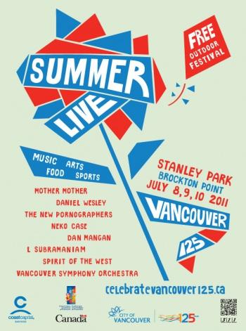 Summer Live Poster
