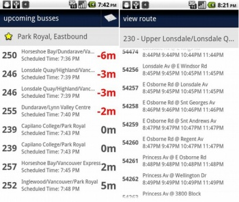 TransLink Screenshot