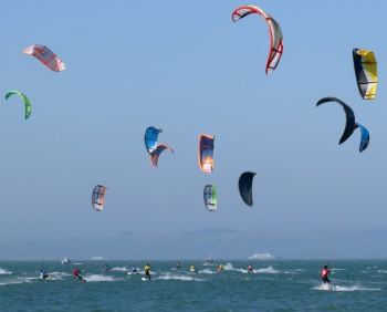 Kiteboarding by Ingrid Taylar