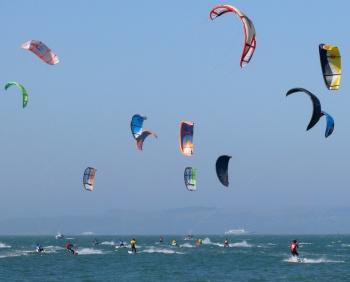 Kiteboarding by Ingrid Taylar