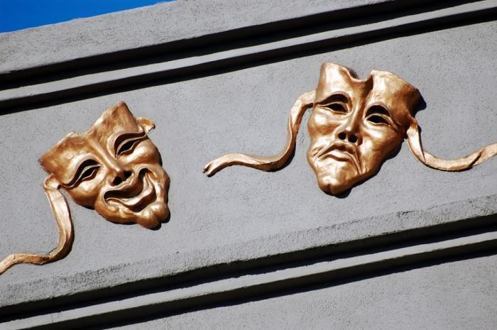 Theatre Masks by Steve Snodgrass