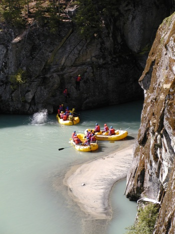 Elaho Exhilarator Whitewater Rafting by Canadian Outback Adventures