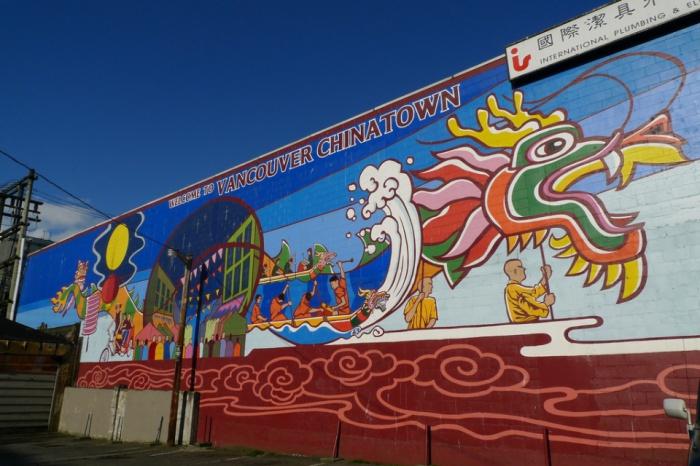 Chinatown Mural by jmv