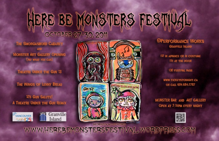 Here Be Monsters Poster