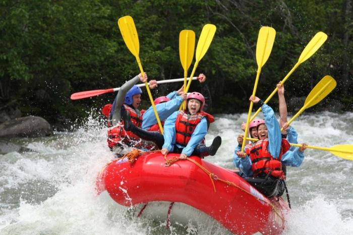 Nahatlatch Rafting by REO
