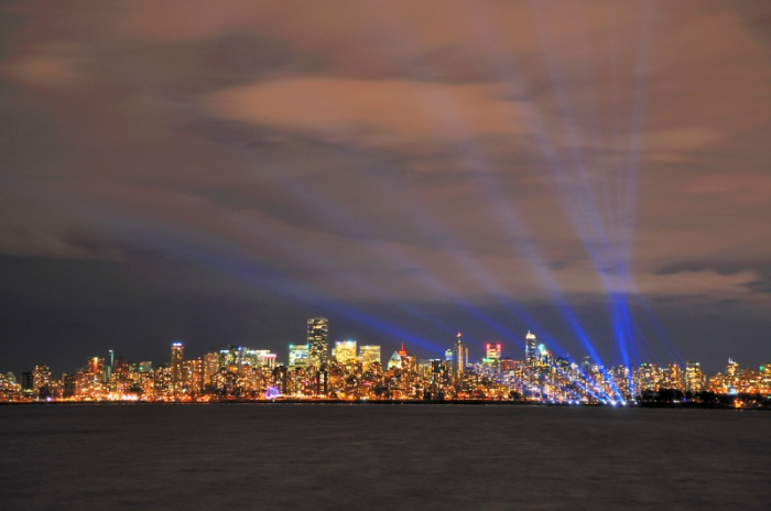 Vancouver Skyline by Rick Cooper