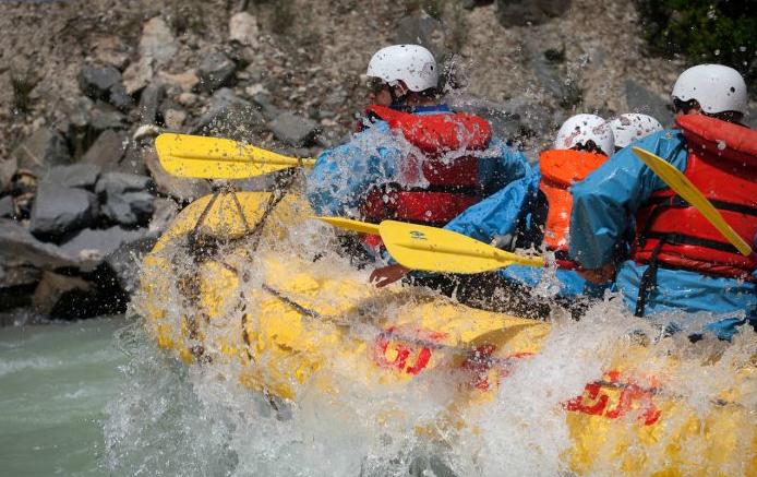 Kicking Horse River Rafting by Glacier Raft Company