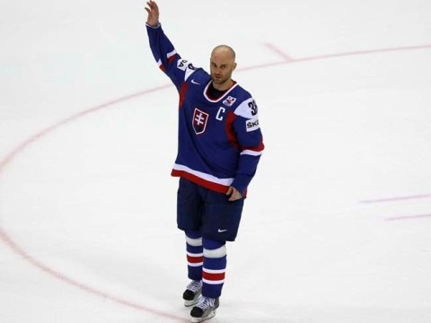 Pavol Demitra's last match in Slovakia