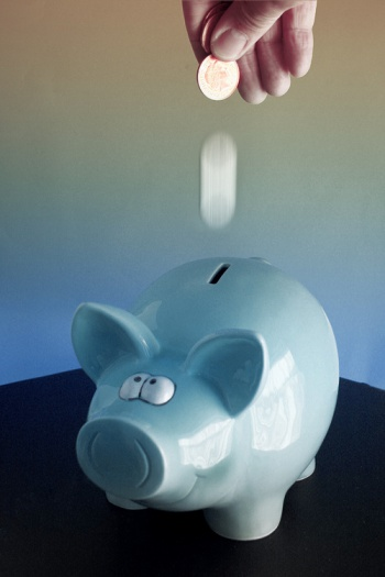 Piggy savings bank by alancleaver 2000