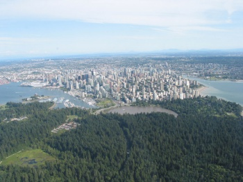Vancouver Stanley Park by cakeordeath