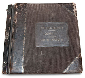Vancouver Book 1909
