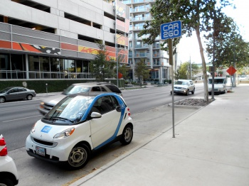 Car2Go in Austin by Denis Bocquet 1