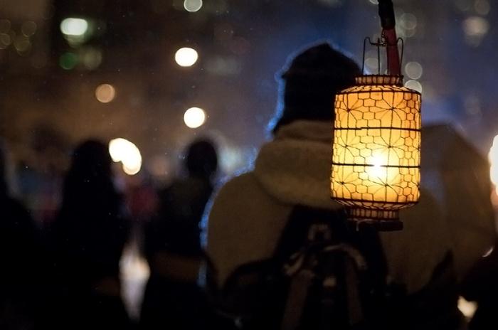 Winter Solstice Lantern Festival by ItzaFineDay