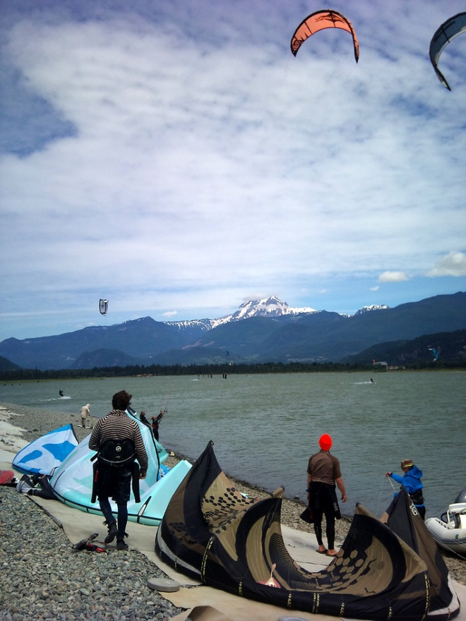 Squamish Spit by Andy L