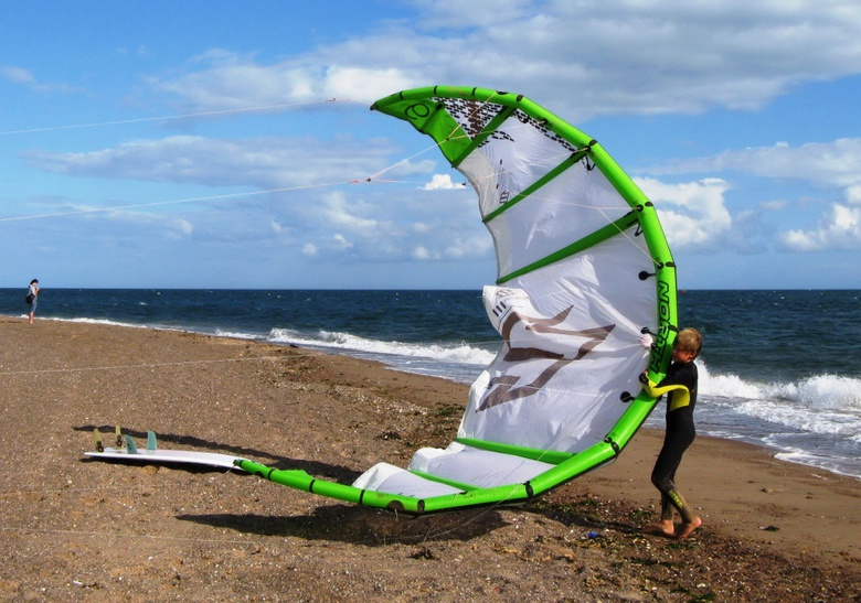 Bow Kite at Exmouth South Devon England