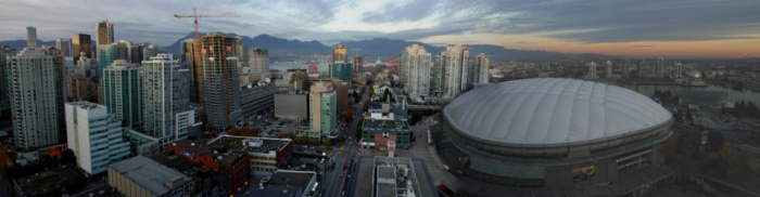 Vancouver Panorama by Tom J  Byrne