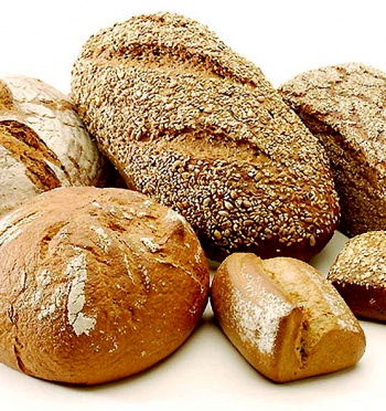Various Leavened Breads by Wikimedia Commons