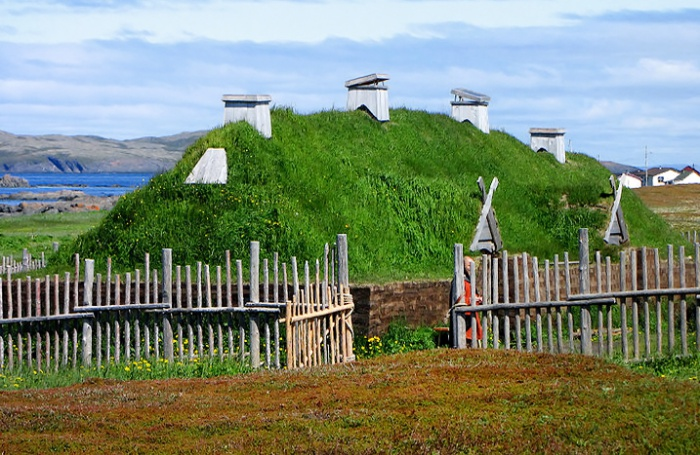 LAnse aux Meadows by Wikimedia Commons