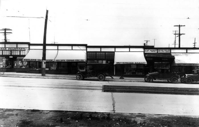 West Side shops Dunbar