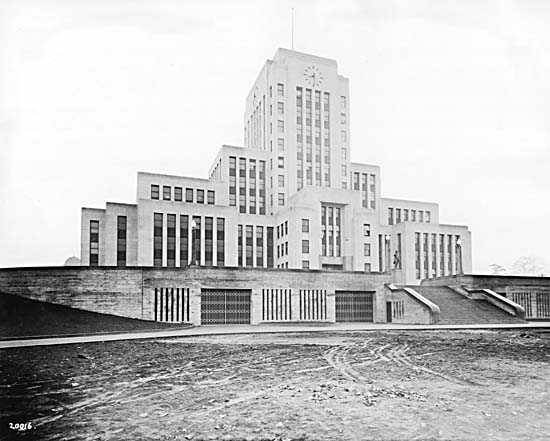 Vancouver Cityhall 1936