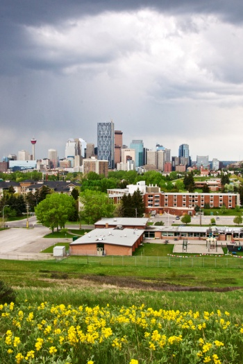 Calgary Downtown by Naserke