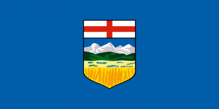 Flag of Alberta by Wikimedia Commons