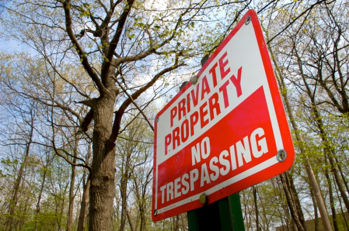 Private Property by Phil Gilbert