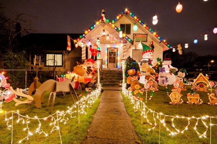 Santa home decorations