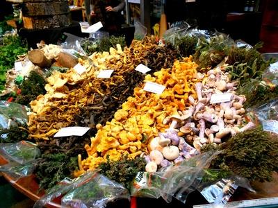 Mushrooms Farmers Markets Vancouver