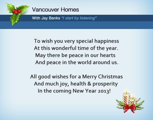 JB holiday card
