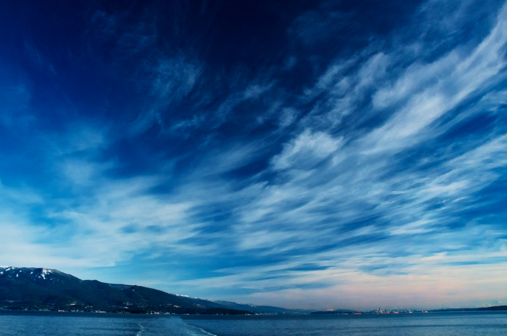 Clouds Over Seawall Vancouver Bc Photos