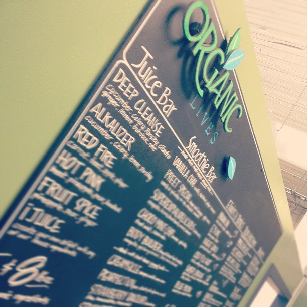 organic lives board