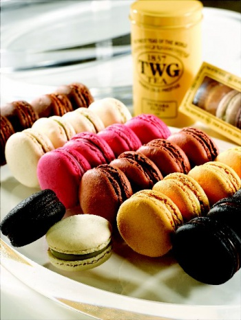 Macarons and Tea at The Urban Tea Merchant