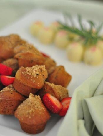 Om Chai Mini Muffins Steam Tea House 1