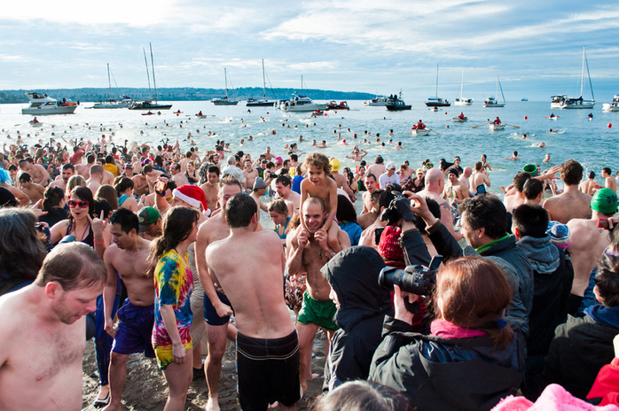 Annual Polar Bear Swim Vancouver