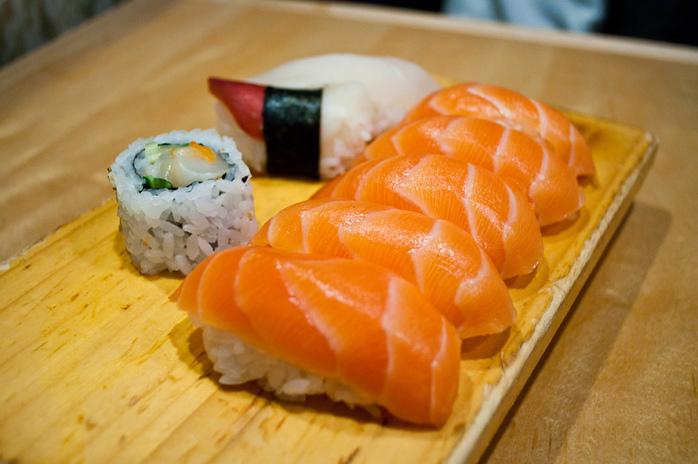 International cuisine sushi